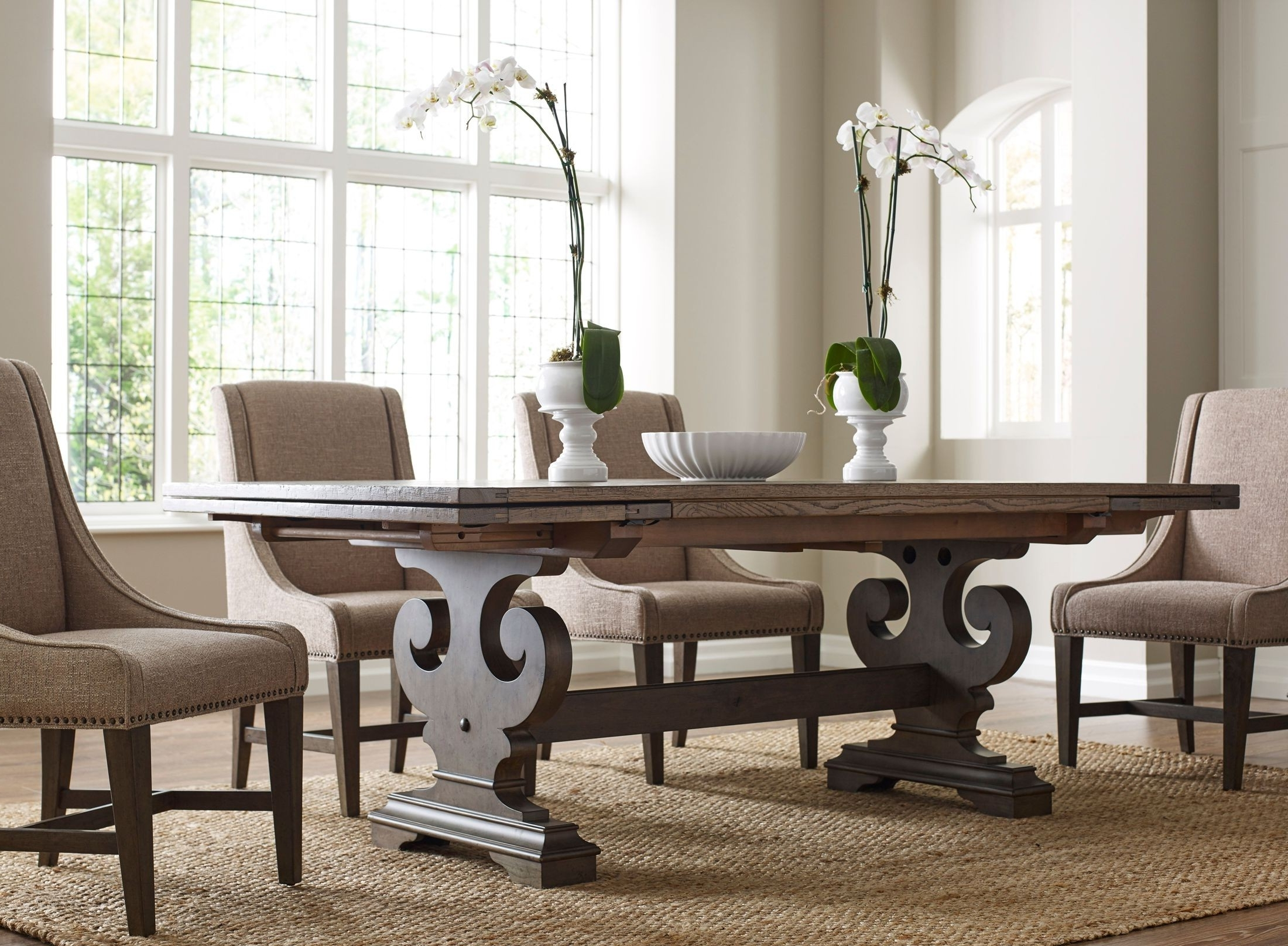 Most Recently Released Crawford Rectangle Dining Tables Pertaining To Kincaid Greyson Crawford Refractory Dining Room Set – Greyson (View 9 of 25)