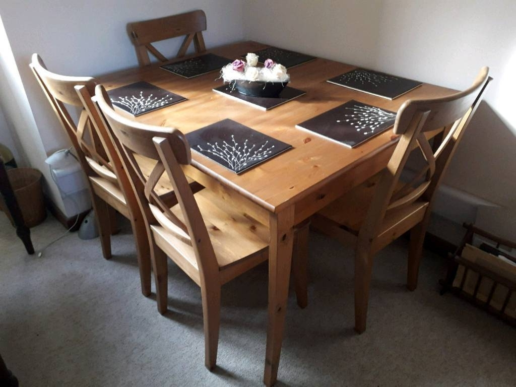 Most Recently Released Dining Table With Extension And 6 Chairs (View 22 of 25)