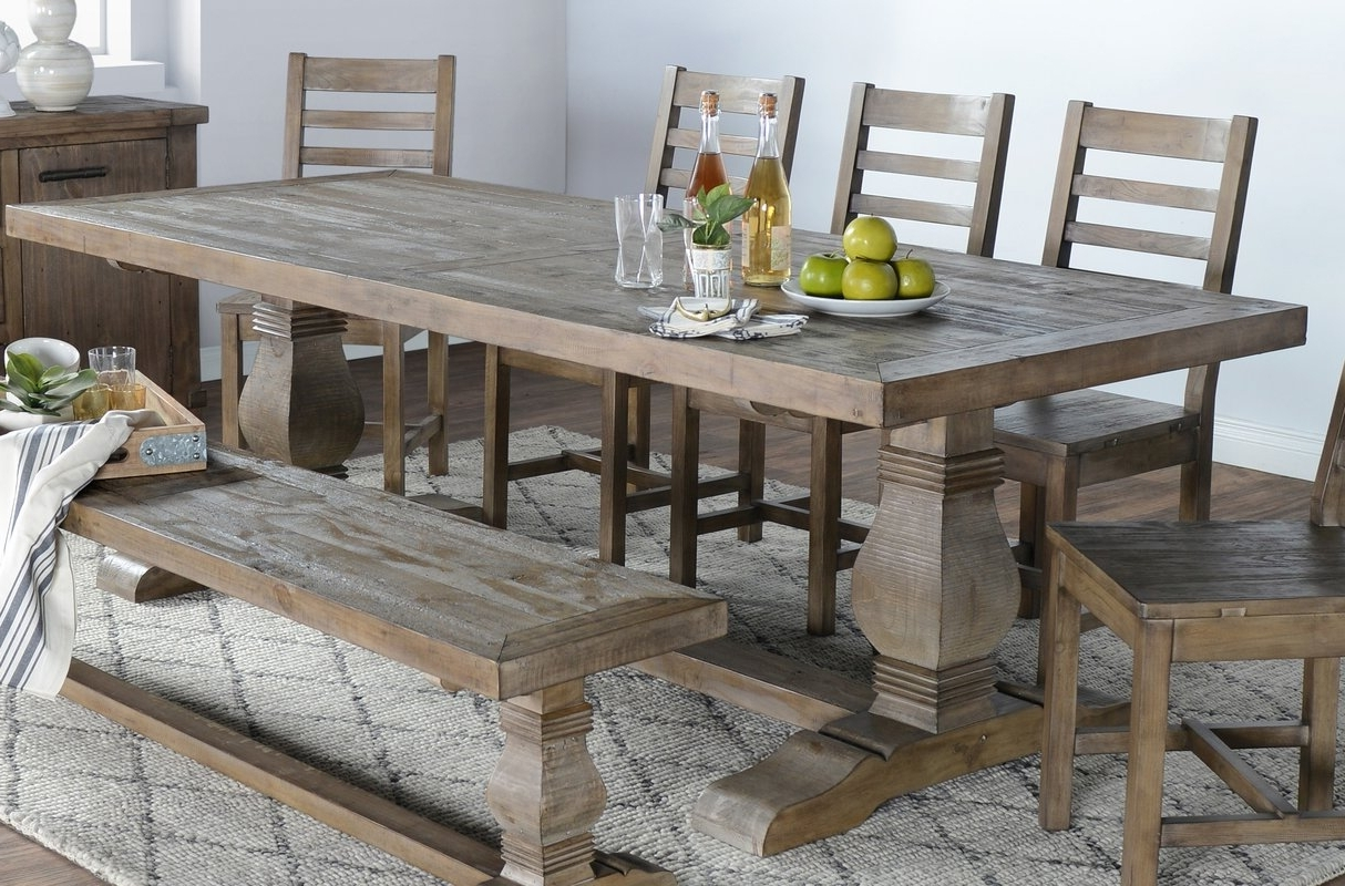 Most Recently Released Gertrude Farmhouse Dining Table – Farmhouse Touches Inside Dining Tables (View 18 of 25)