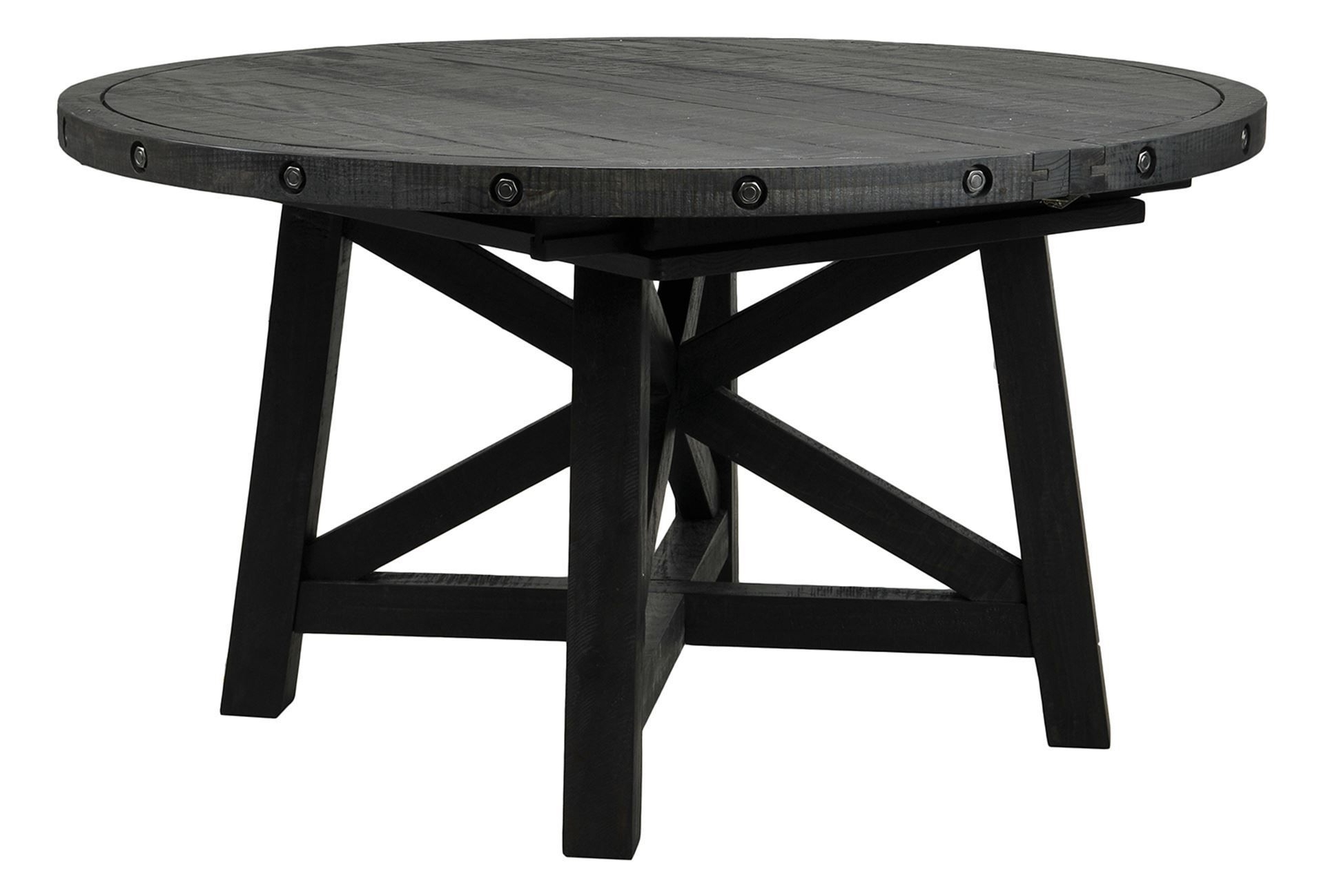 Most Recently Released Jaxon Round Extension Dining Table (View 4 of 25)