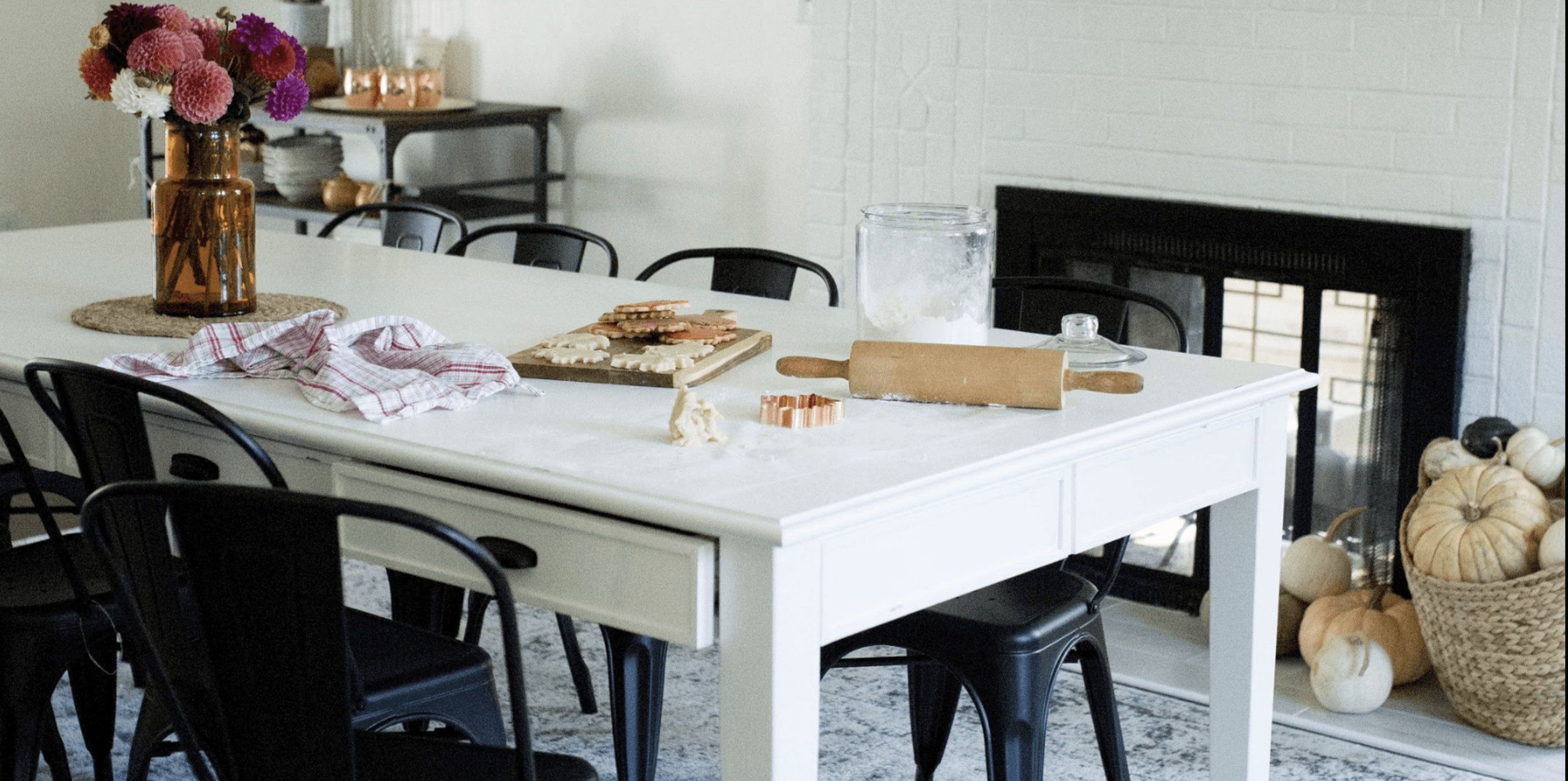 Most Recently Released Magnolia Home Breakfast Round Black Dining Tables Intended For Our Fixer Upper: Dining Room Edition – How You Live Blog (View 19 of 25)