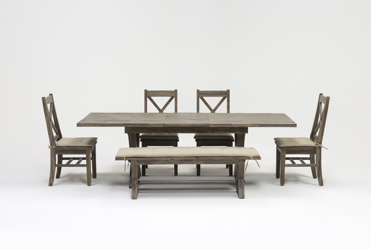 Most Recently Released Mallard 6 Piece Extension Dining Set Intended For Mallard Extension Dining Tables (View 8 of 25)
