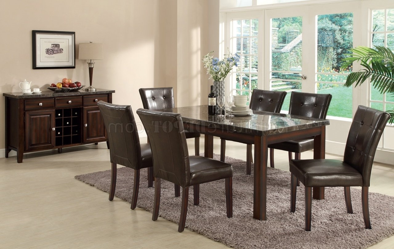 Most Recently Released Milton Dining Tables Intended For 103770 Milton Dining Tablecoaster W/marble Top & Options (View 23 of 25)