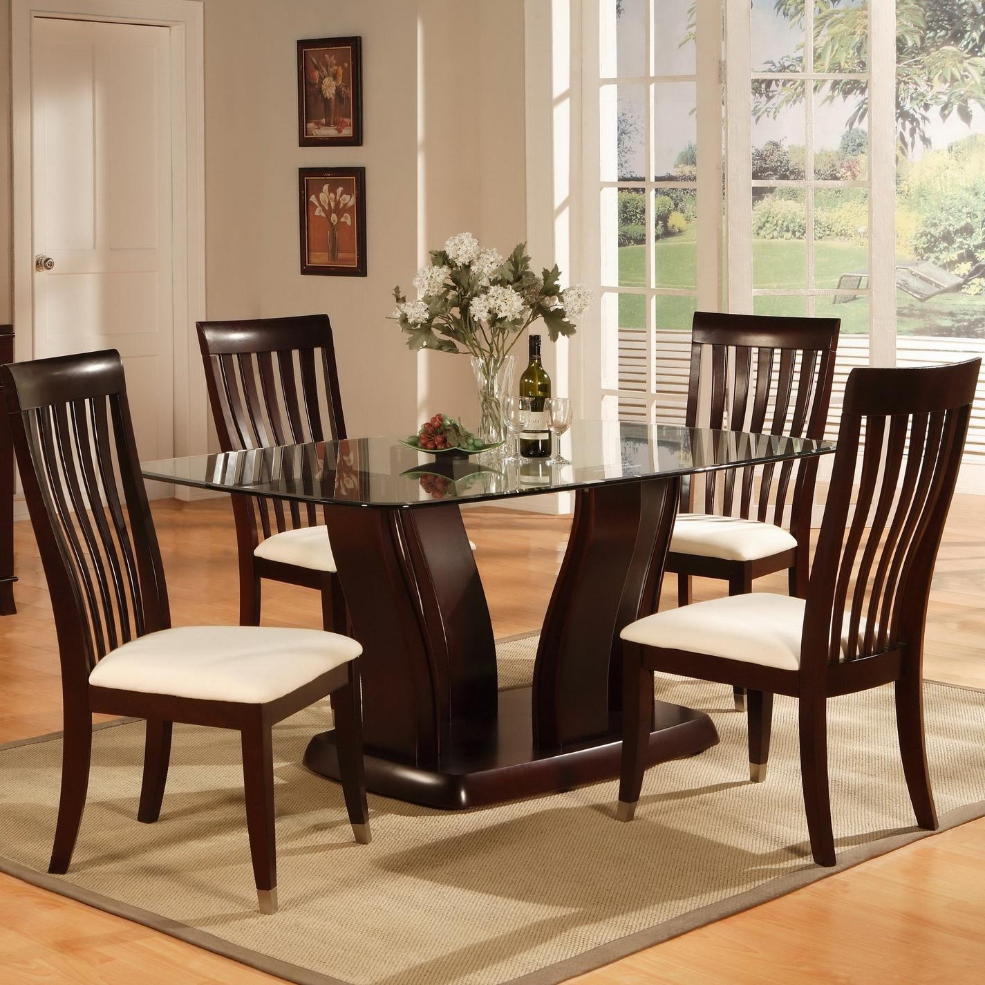 Most Recently Released New York Dining Tables Pertaining To Holland House New York 5 Piece Dining Table And Chair Set (View 23 of 25)