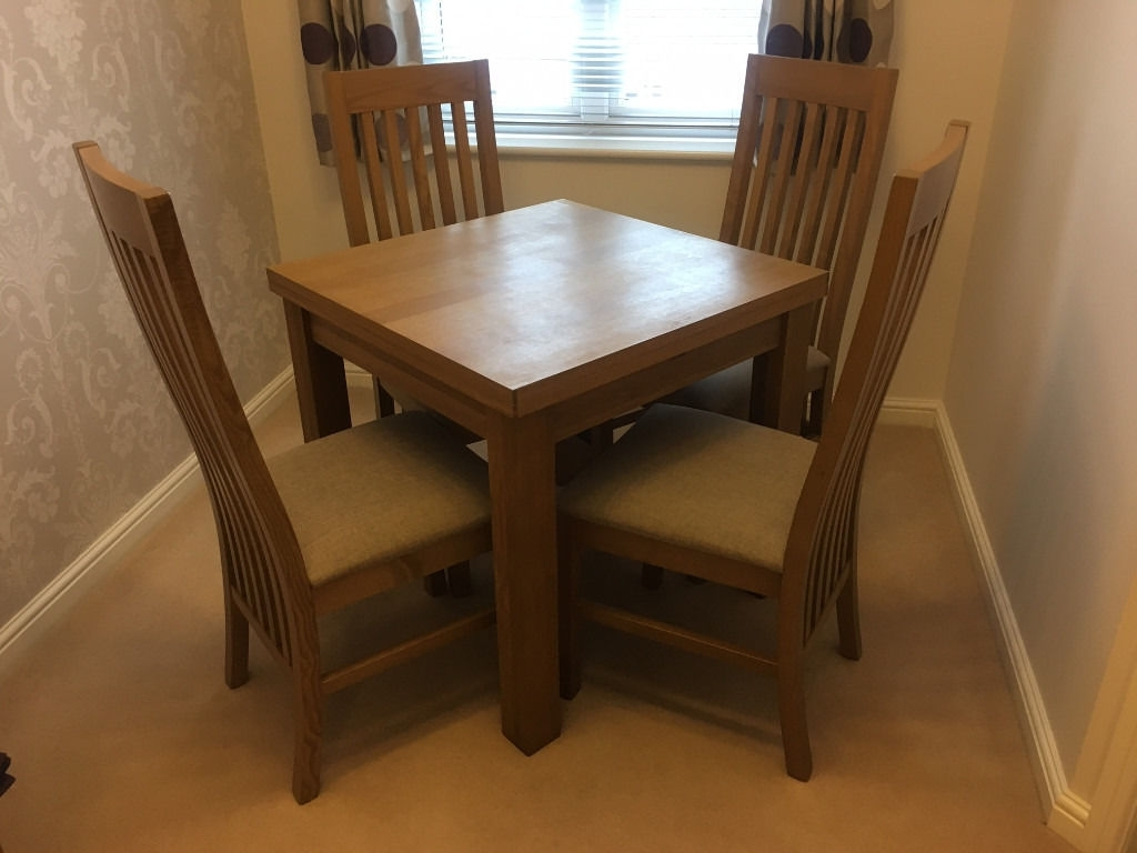 Most Recently Released Next Cambridge Light 4 6 Seater Square To Rectangle Dining Table With Cambridge Dining Tables (View 20 of 25)