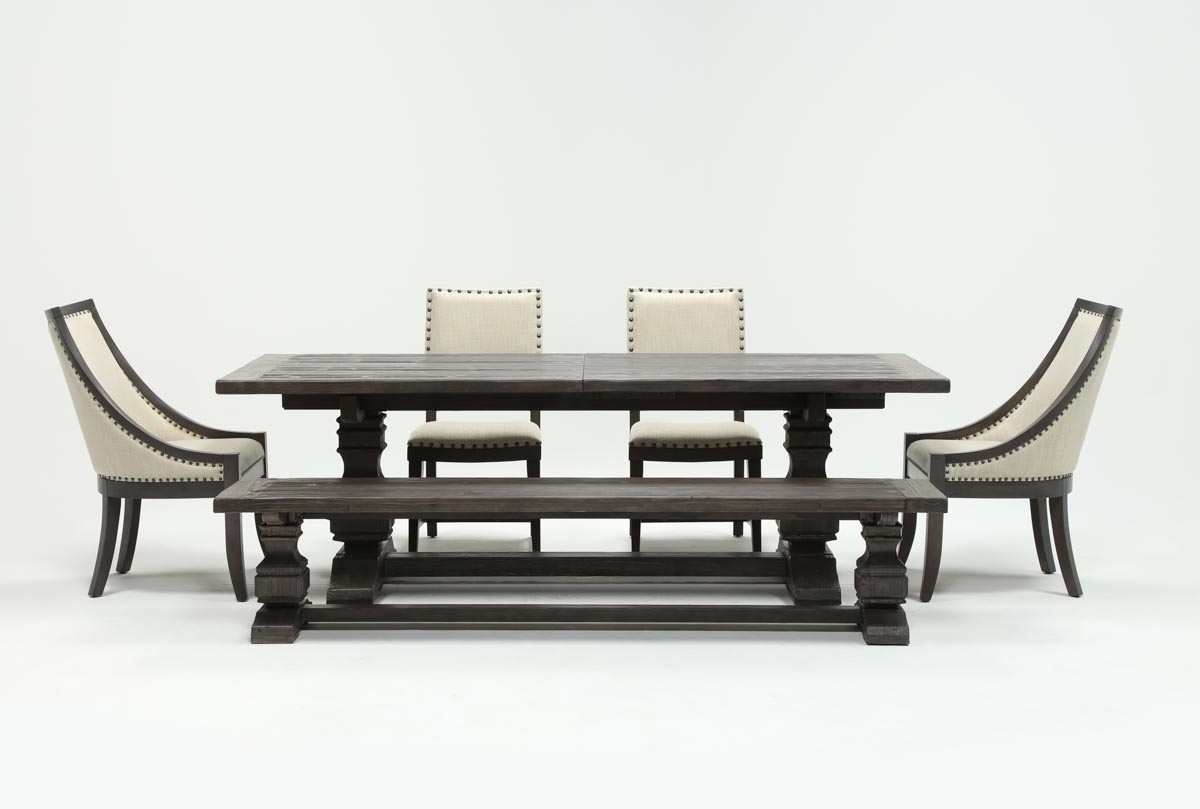 Most Recently Released Norwood 6 Piece Rectangle Extension Dining Set (View 15 of 25)