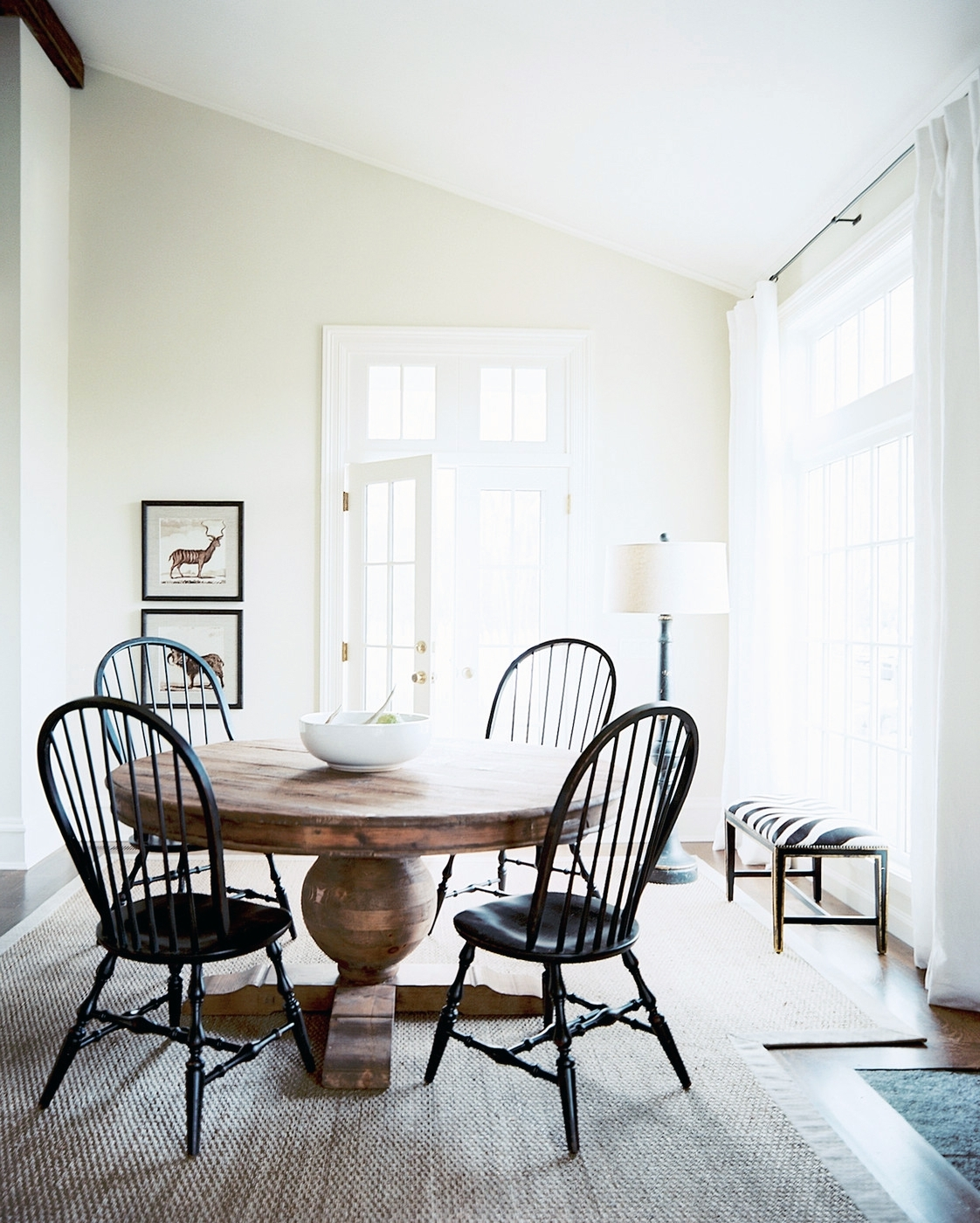 Most Recently Released Pedestal Dining Tables And Chairs Within High + Low Roundup :: Round Pedestal Dining Tables – Coco Kelley (View 13 of 25)