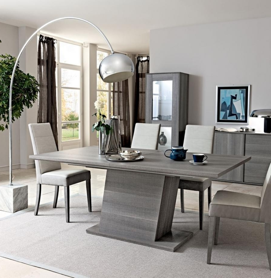 Most Recently Released Splendid Design Ideas Grey Wood Dining Set Jaxon 6 Piece Rectangle With Jaxon Grey 6 Piece Rectangle Extension Dining Sets With Bench & Wood Chairs (View 15 of 25)