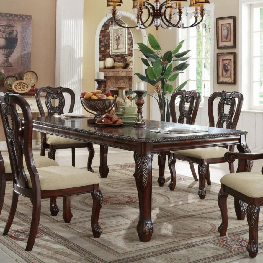 Most Recently Released Traditional Dining Tables Intended For  (View 10 of 25)