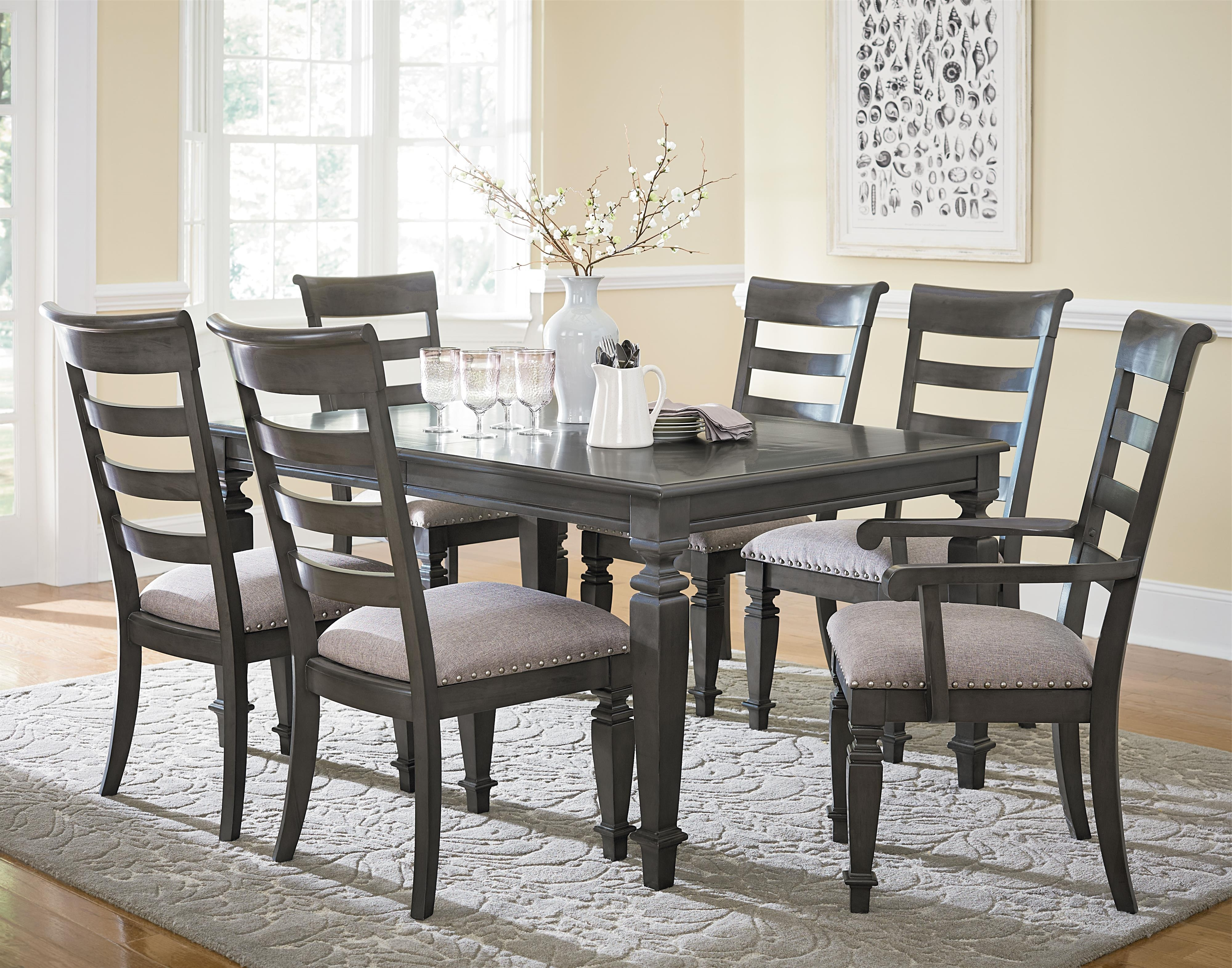 Most Recently Released Traditional Seven Piece Dining Setstandard Furniture (View 5 of 25)