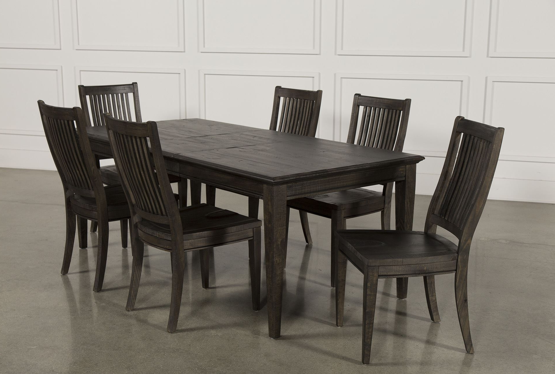 Most Recently Released Valencia 64 Inch 7 Piece Extension Dining Set (View 10 of 25)