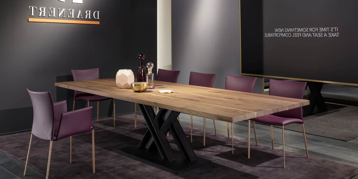 Most Recently Released Victor Dining Tables With Victor – Dining Tables – Products – Draenert (View 6 of 25)