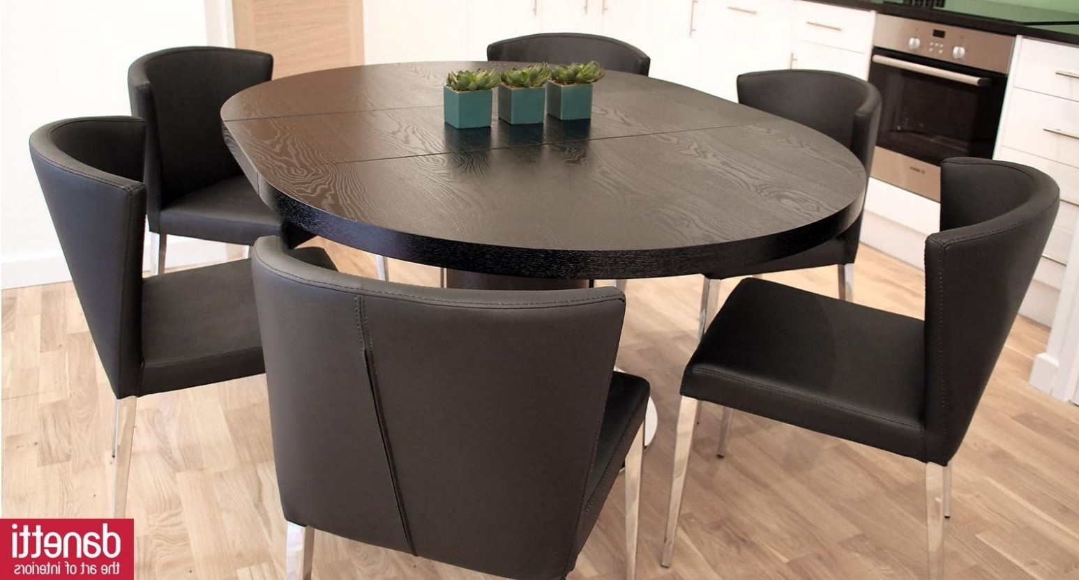Most Up To Date 100+ Black Round Extendable Dining Table – Best Way To Paint Wood For Black Extendable Dining Tables Sets (Gallery 6 of 25)