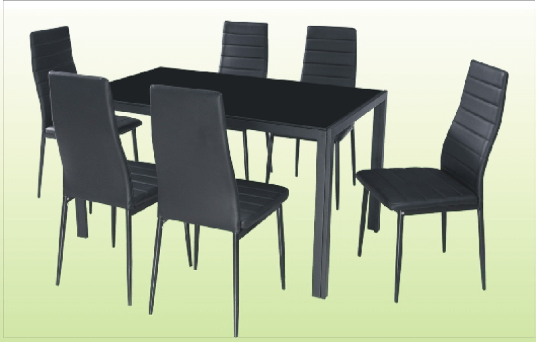 Most Up To Date 6 Seater Round Dining Tables Pertaining To 6 Chair Dining Table – Cebu Appliance Center (View 17 of 25)