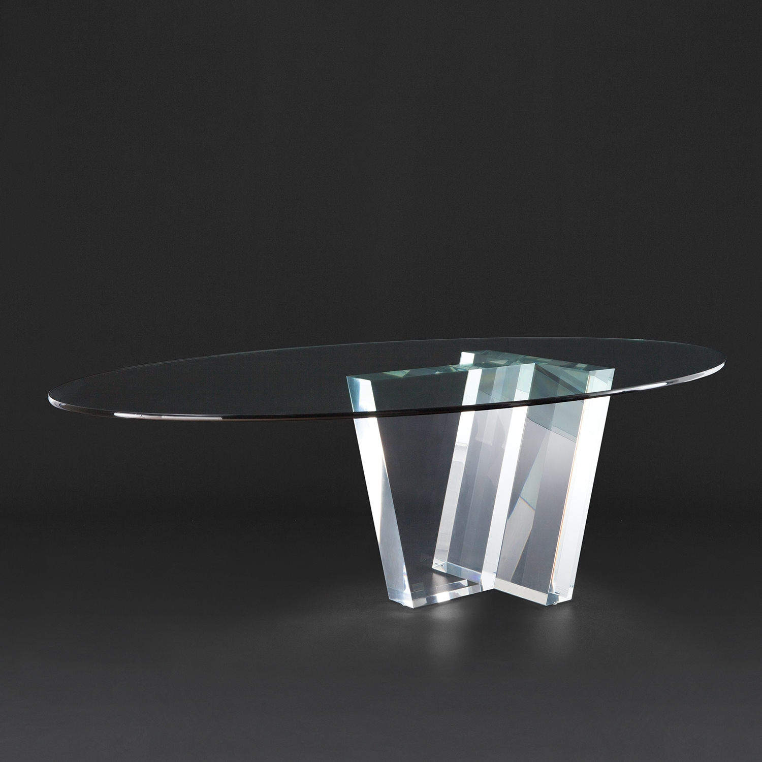 Most Up To Date Acrylic Dining Tables With Allan Knightacrylic (View 22 of 25)