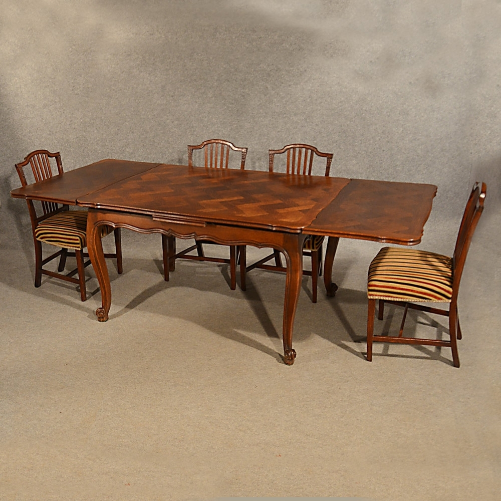 Most Up To Date Antique Extending Kitchen Dining Table French Oak – Antiques Atlas Inside French Extending Dining Tables (View 12 of 25)