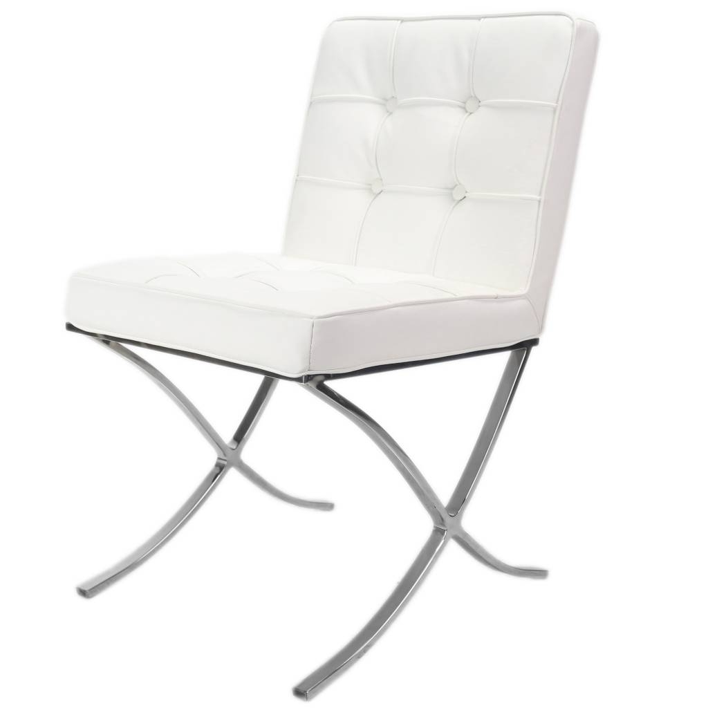 Most Up To Date Barcelona Dining Chair White – Shipped Within 24 Hours! – Furnwise Throughout White Dining Chairs (Gallery 24 of 25)