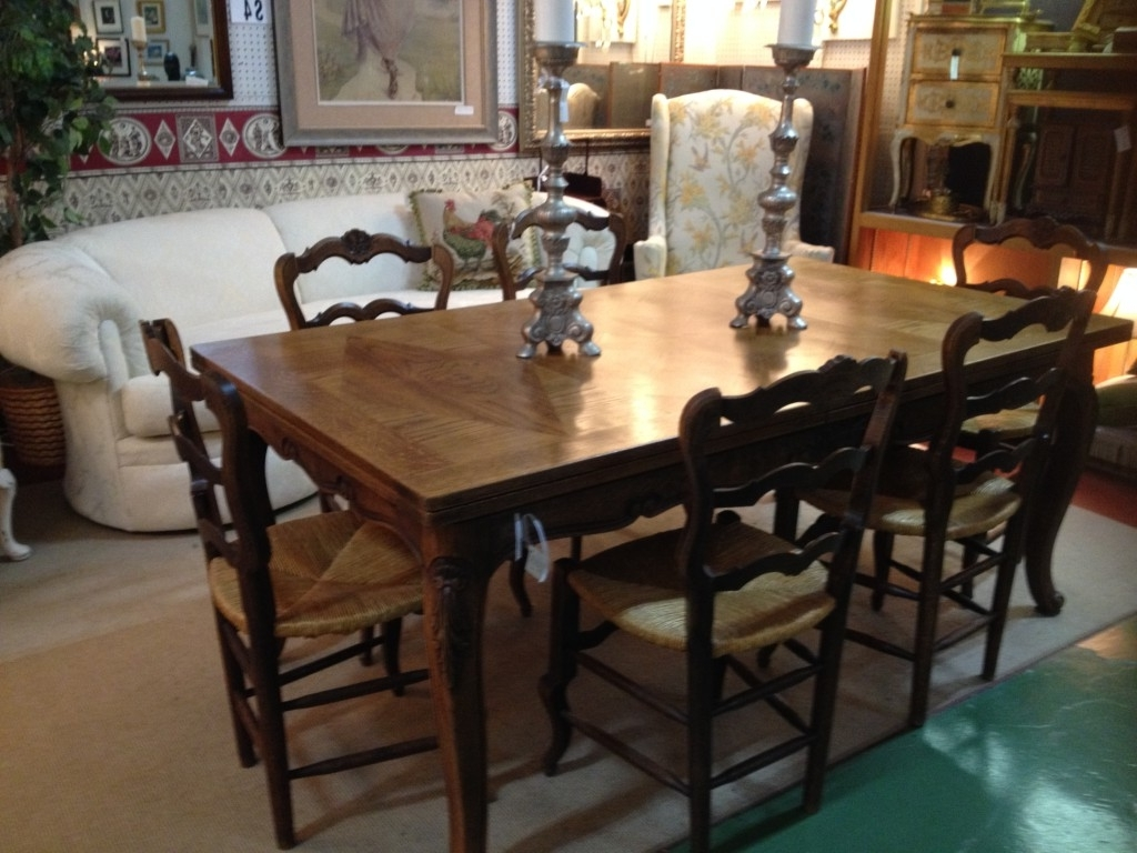 Most Up To Date Be Prepared! Thanksgiving Is Coming! With Regard To Parquet 6 Piece Dining Sets (View 21 of 25)