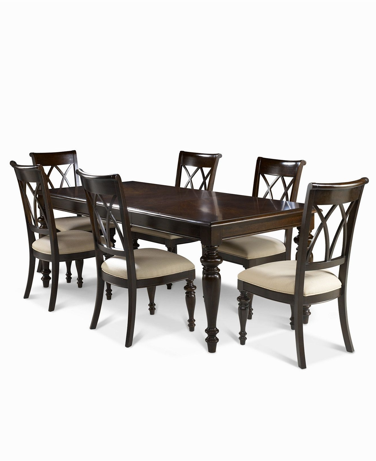 Most Up To Date Bradford Dining Tables Throughout Bradford 7 Piece Dining Room Furniture Set (Table & 6 Side Chairs (View 15 of 25)
