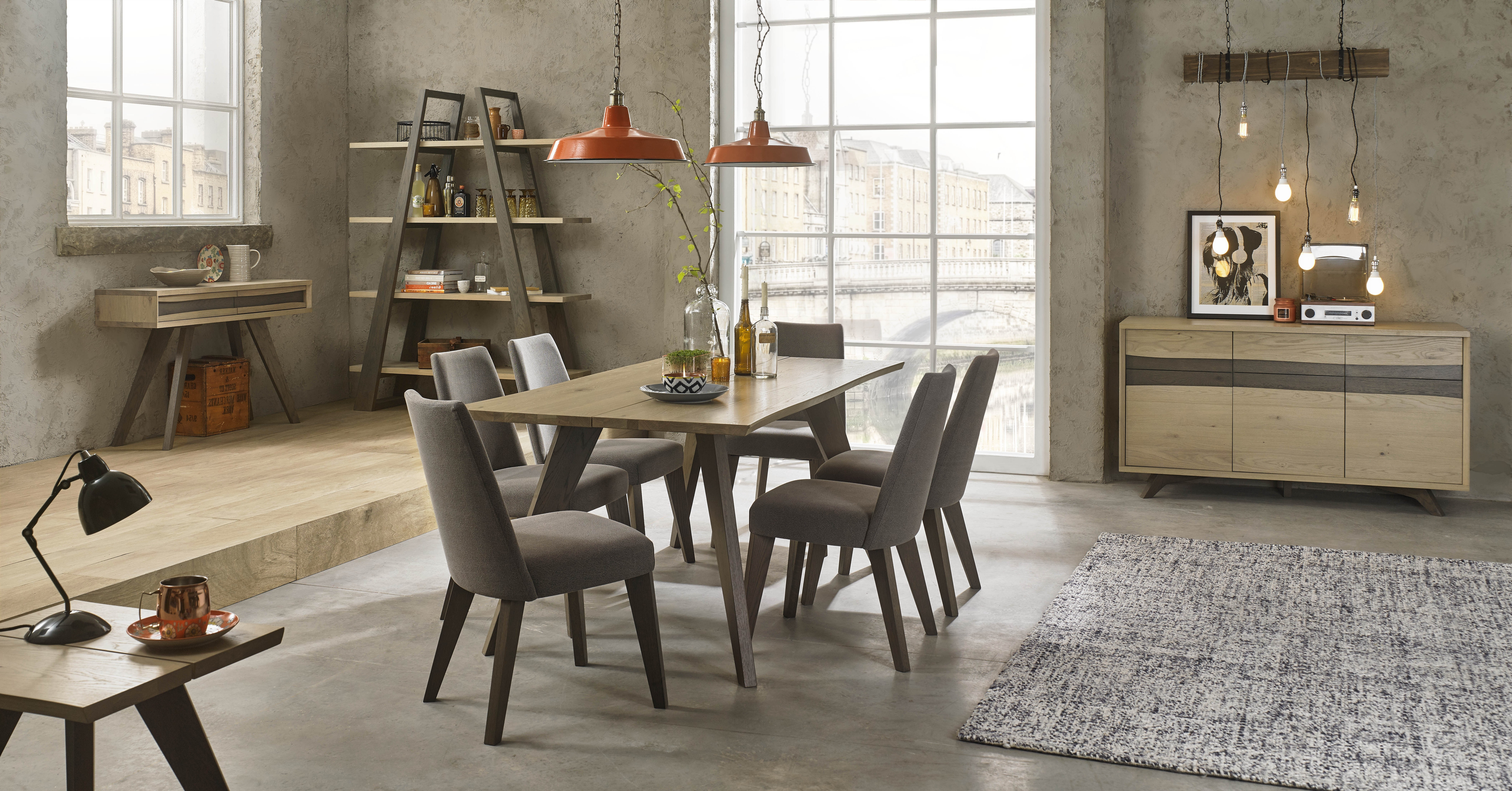 Most Up To Date Cadell Aged & Weathered Oak 6 Seater Dining Table – Style Our Home Throughout Oak 6 Seater Dining Tables (View 11 of 25)