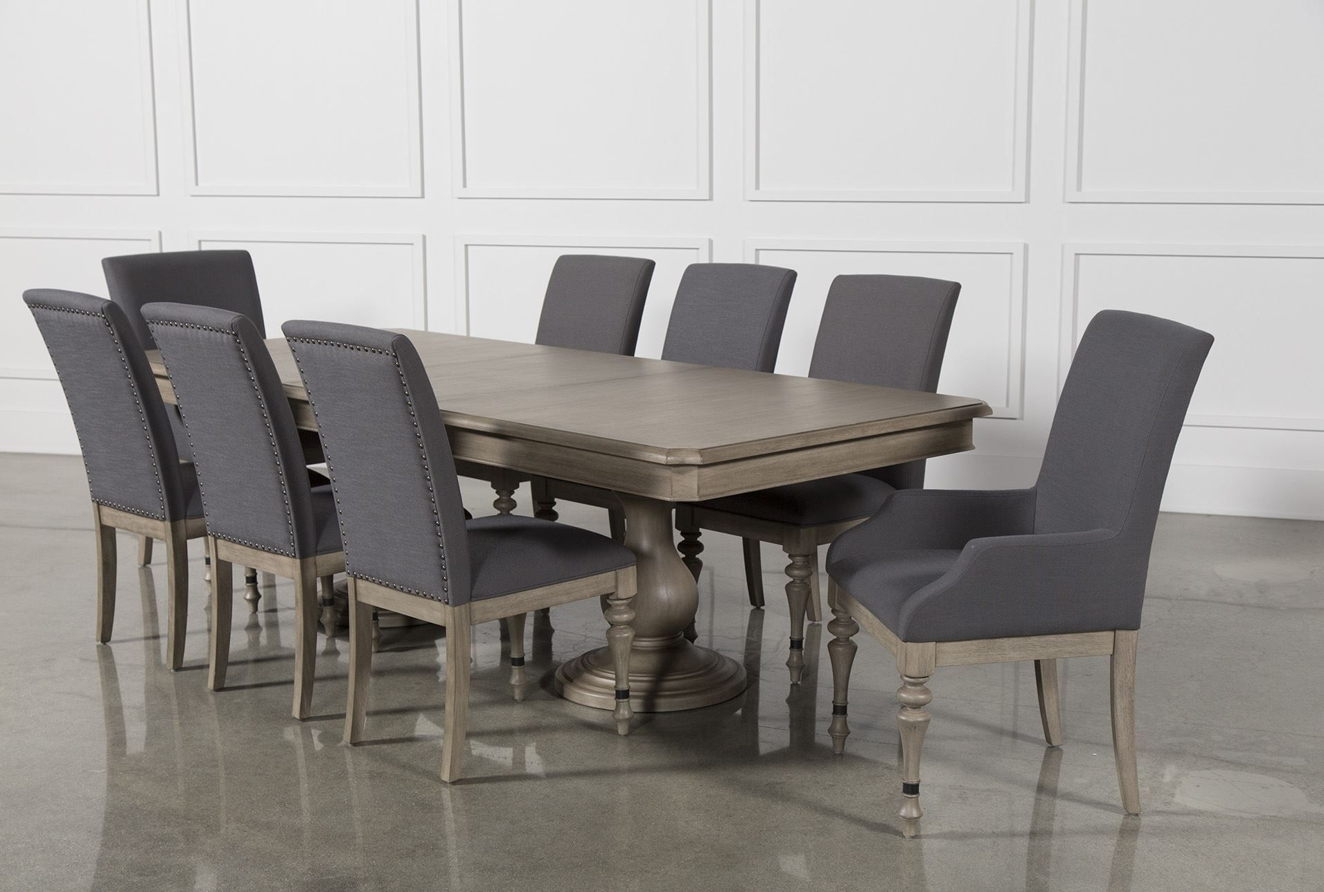 Most Up To Date Caira 9 Piece Extension Dining Sets Intended For Caira 9 Piece Extension Dining Set (Gallery 4 of 25)
