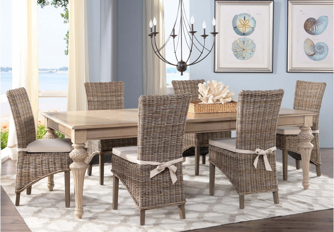 Most Up To Date Crawford Rectangle Dining Tables Within Dining: Comfortable Cindy Crawford Dining Room Set With Rectangular (View 17 of 25)