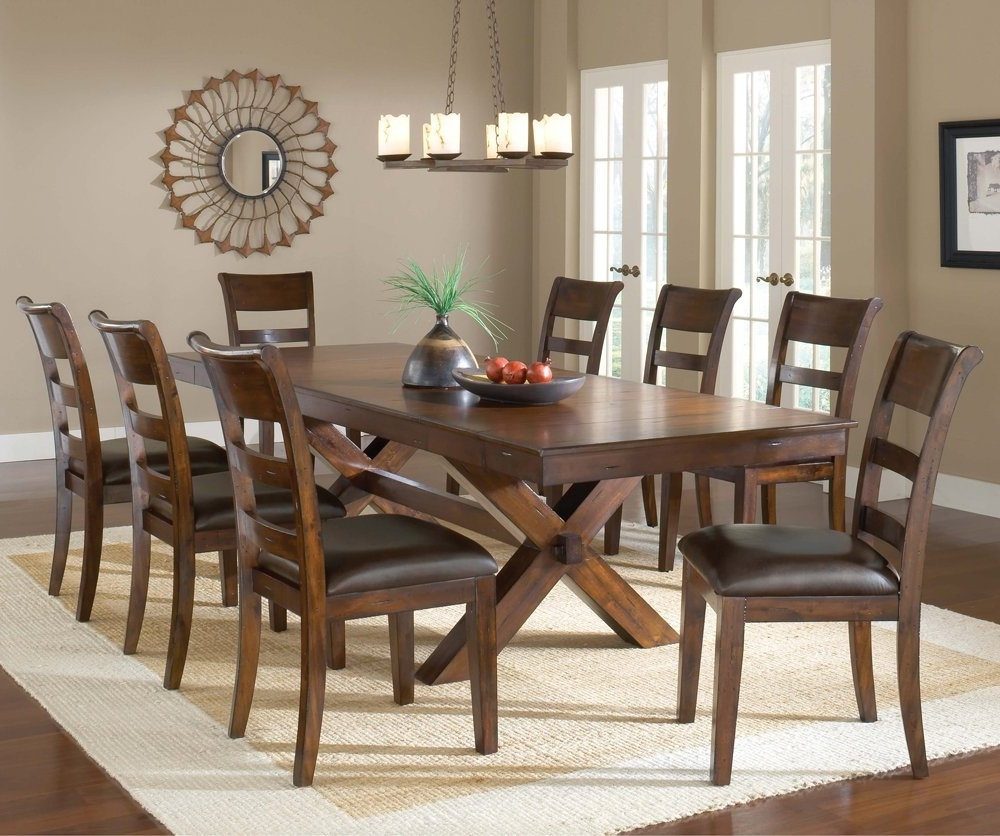 Most Up To Date Dark Will Be Available May Pieces Included For This Set Steve Silver Within Rocco 7 Piece Extension Dining Sets (View 21 of 25)