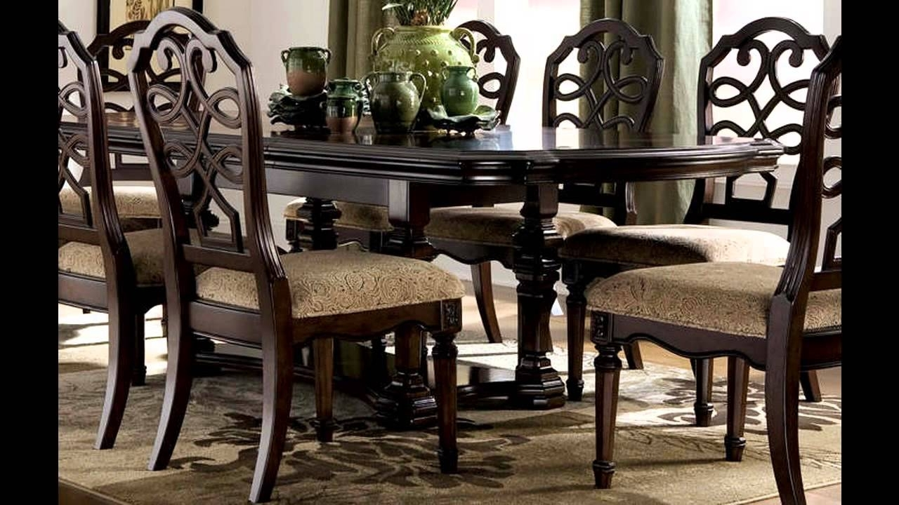 Most Up To Date Dining Room Sets Ashley Furniture – Youtube Regarding Dining Table Sets (View 16 of 25)