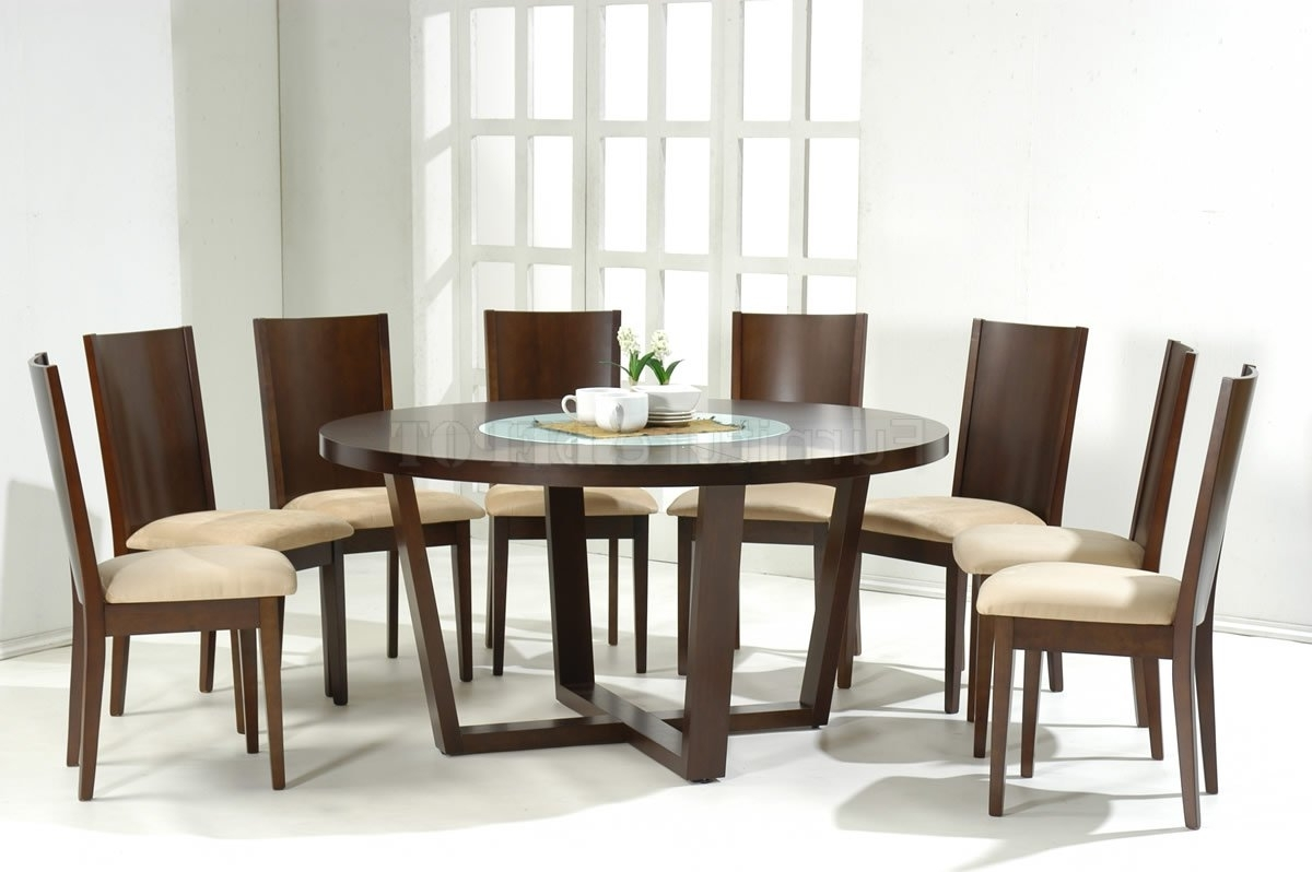 Most Up To Date Dining Tables: Appealing Round Dining Room Tables For 8 Round Dining Regarding Dining Tables For Eight (View 18 of 25)