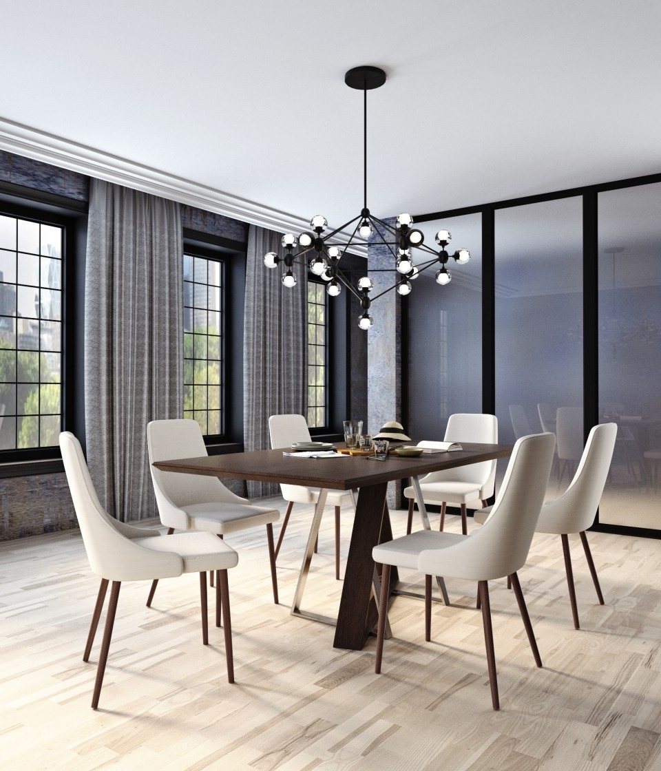 Most Up To Date Drake/cora 7Pc Dining Setworldwide Homefurnishings Within Cora Dining Tables (View 20 of 25)
