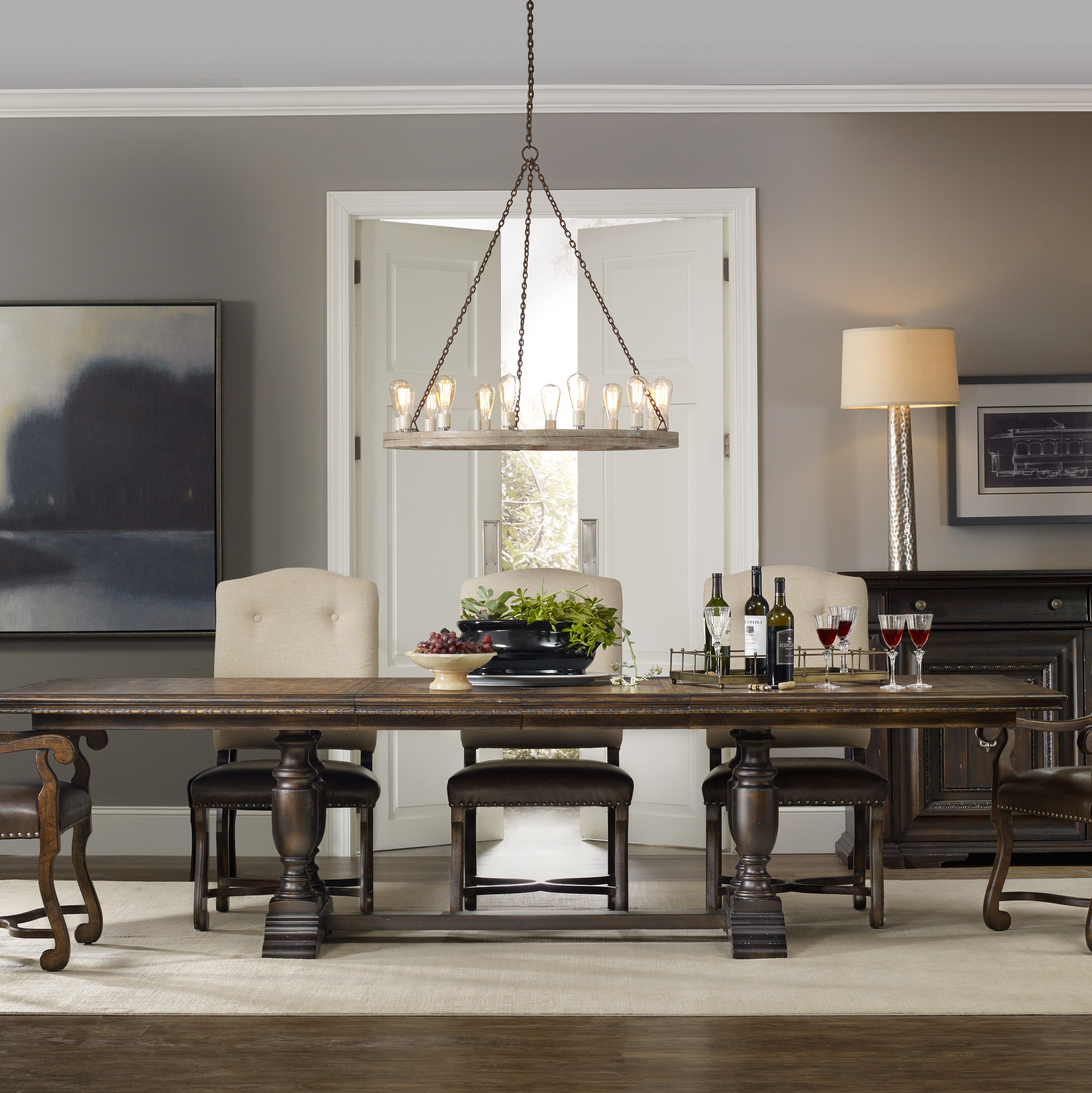 Most Up To Date Extendable Dining Sets Intended For Treviso Extendable Dining Table (View 22 of 25)
