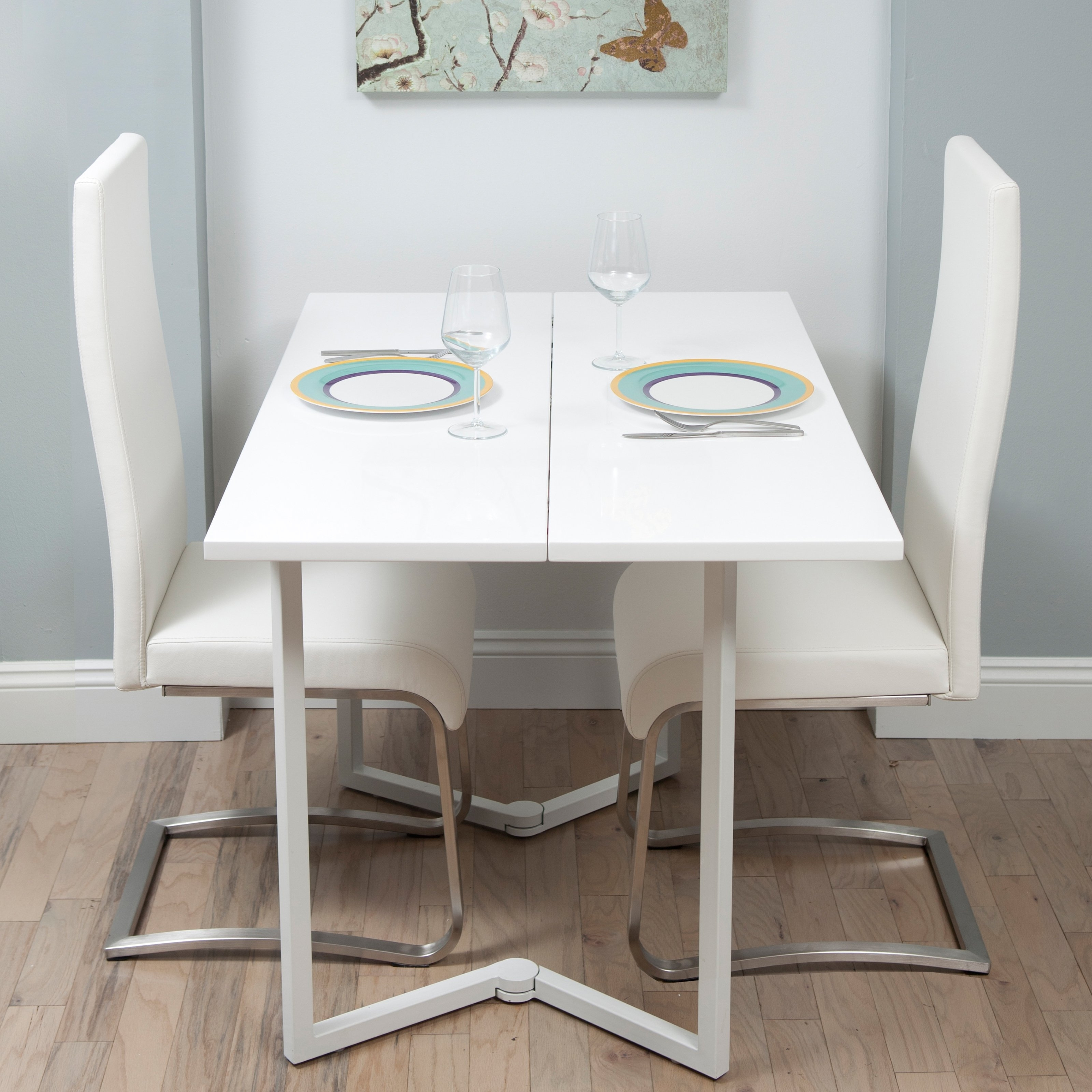 Most Up To Date Foldaway Dining Tables With Regard To Fold Down Kitchen Table And Chairs • Folding Table Ideas (View 7 of 25)