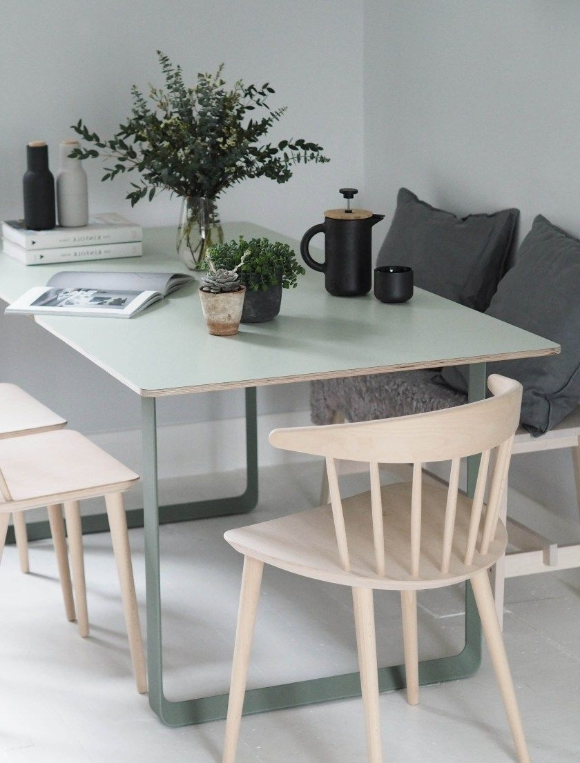 Most Up To Date Green Dining Tables Regarding My Muuto 70/70 Table – Modern Scandinavian Design Dining Table (View 18 of 25)