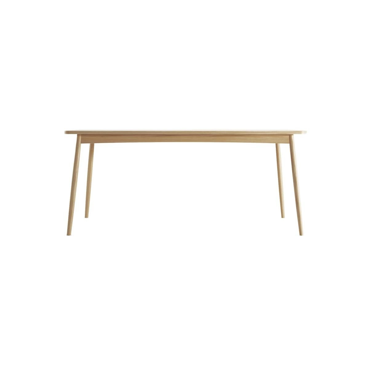 Most Up To Date Karpenter – Twist Dining Table (Oak) – Modern Dining Tables For Your For 180Cm Dining Tables (Gallery 24 of 25)