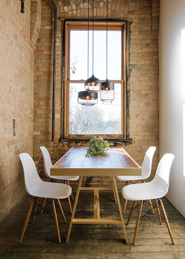 Most Up To Date Next White Dining Tables Within 20 Stunning Industrial Dining Design (View 15 of 25)
