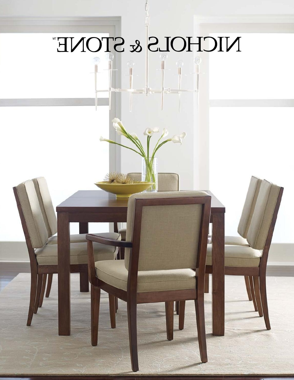 Most Up To Date Nichols & Stone Catalogstickley – Issuu Within Walden Extension Dining Tables (View 11 of 25)