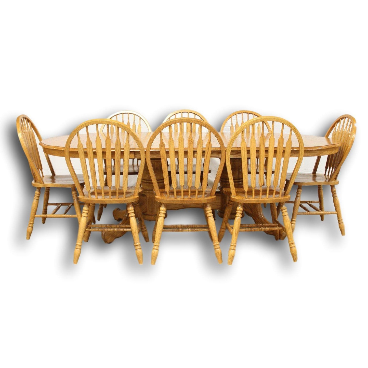 Most Up To Date Oak Dining Tables And 8 Chairs Inside Bentwood Bros (View 15 of 25)