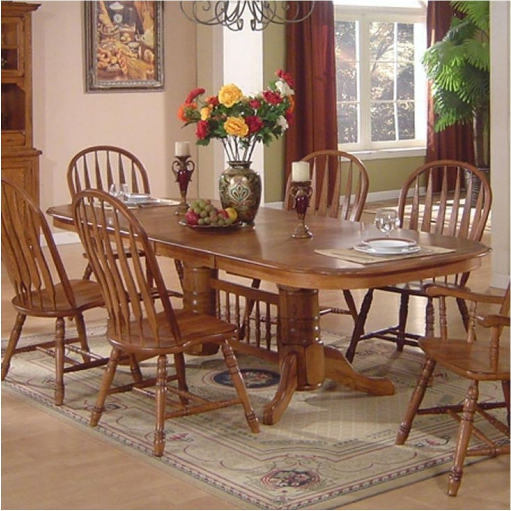 Most Up To Date Oak Dining Tables Sets Regarding Brilliant How And Why To Pick Oak Dining Table And Chairs – Oak Oval (View 15 of 25)
