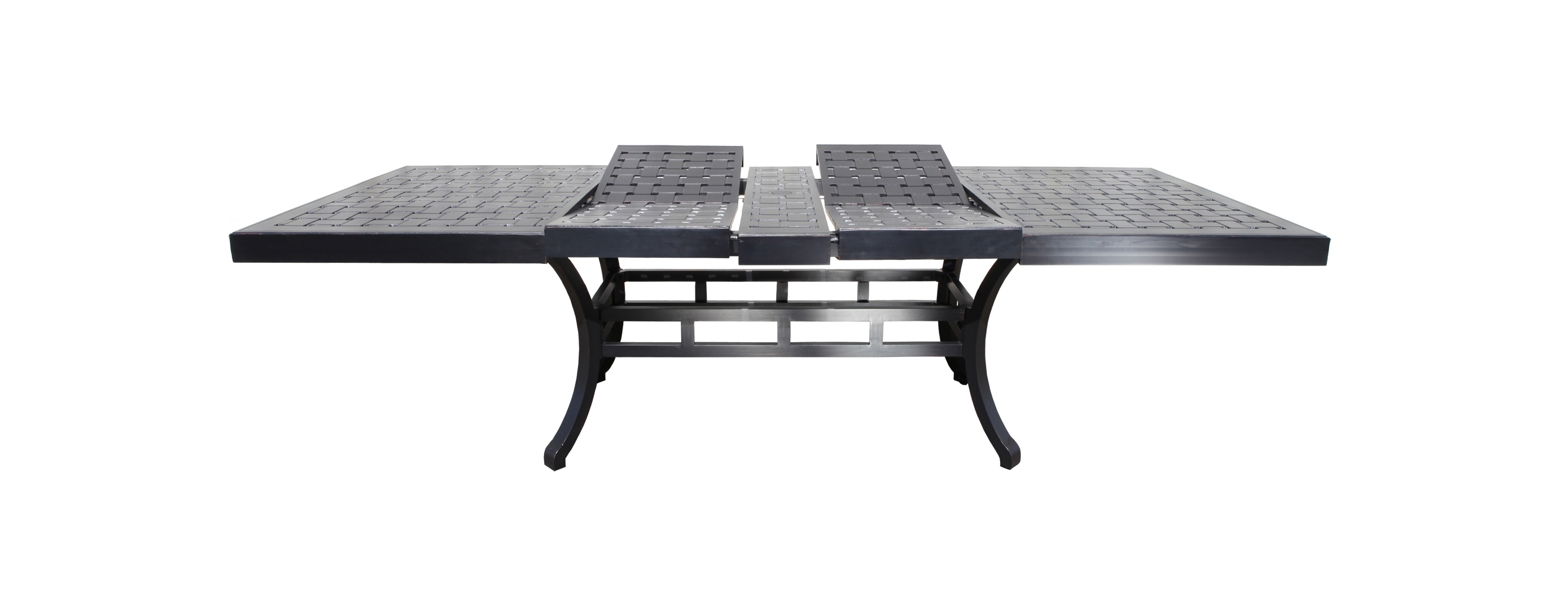 Most Up To Date Outdoor Extendable Dining Tables Within Cast Aluminum Extendable Patio Table (View 1 of 25)