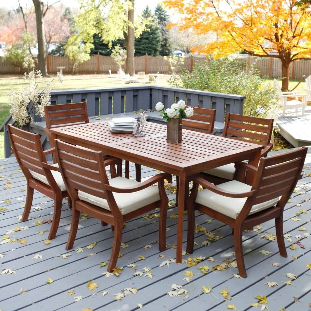 Most Up To Date Patio: Outstanding Outdoor Table And Chairs Set Frontgate Outdoor With Regard To Outdoor Dining Table And Chairs Sets (View 4 of 25)