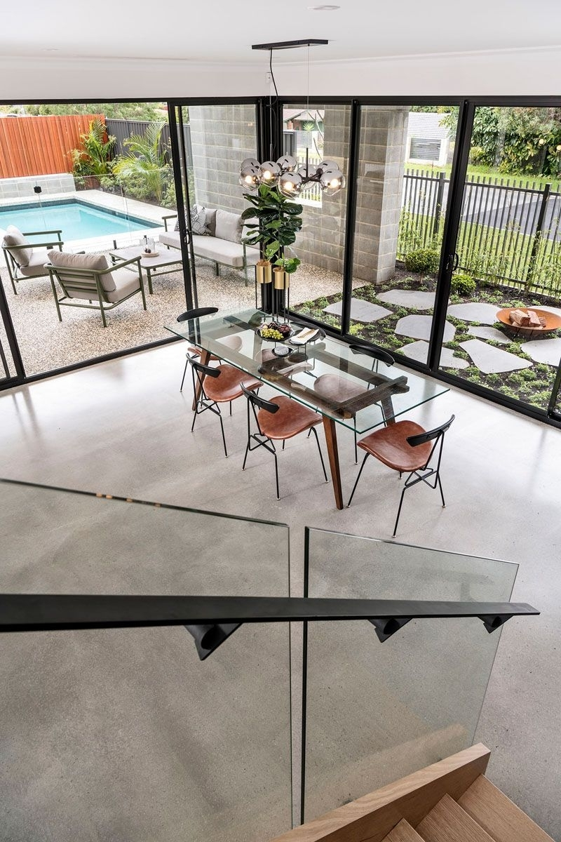 Most Up To Date Perth Glass Dining Tables Intended For The Barnhaus Has Recently Been Completed In Perth, Australia (View 12 of 25)