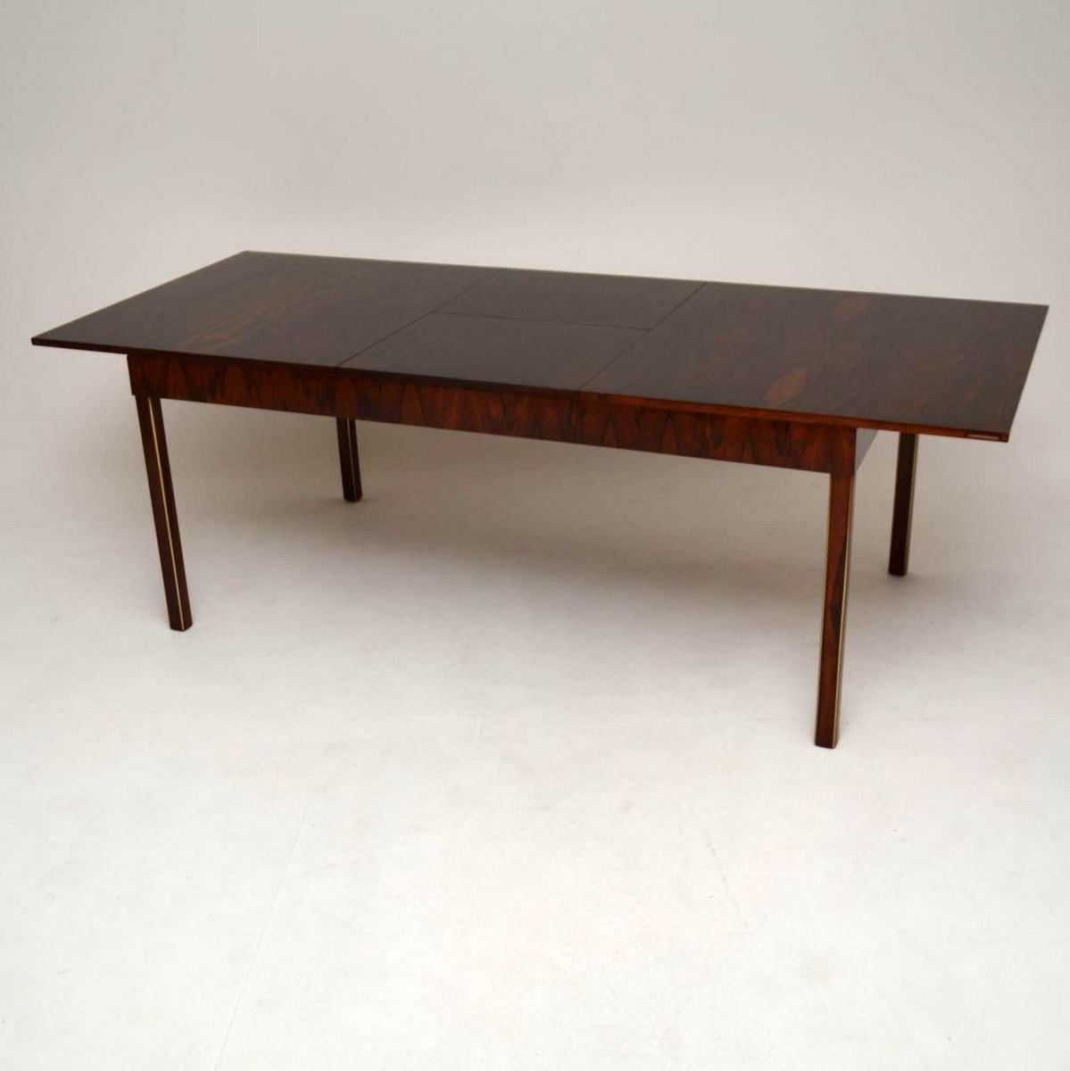 Most Up To Date Retro Extending Dining Tables Pertaining To Retro Rosewood Extending Dining Tablefristho Vintage 1960's (View 14 of 25)