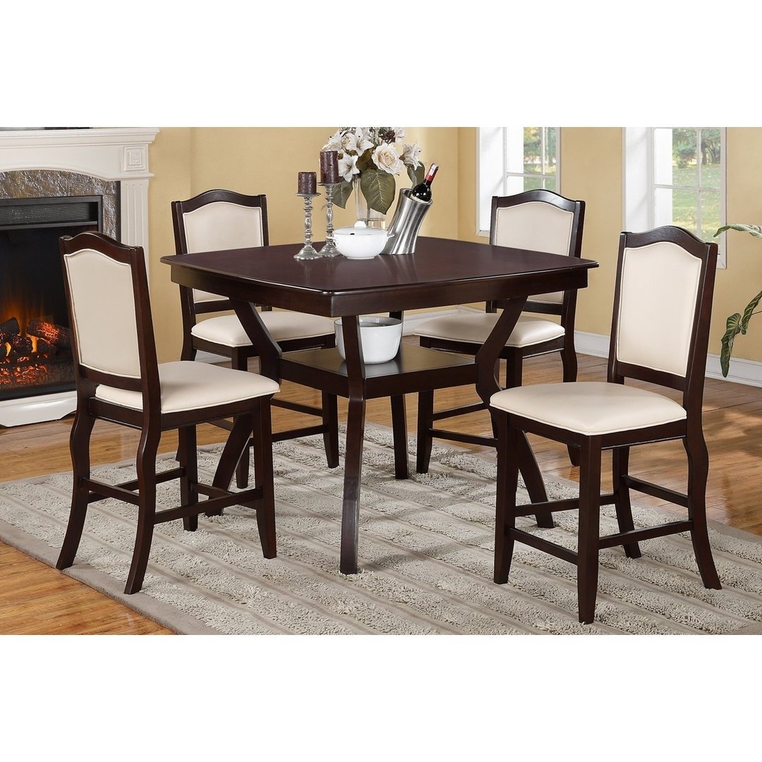 Most Up To Date Shop Hanz Tuly 5 Piece Counter High Dining Set – On Sale – Free For Harper 5 Piece Counter Sets (View 18 of 25)
