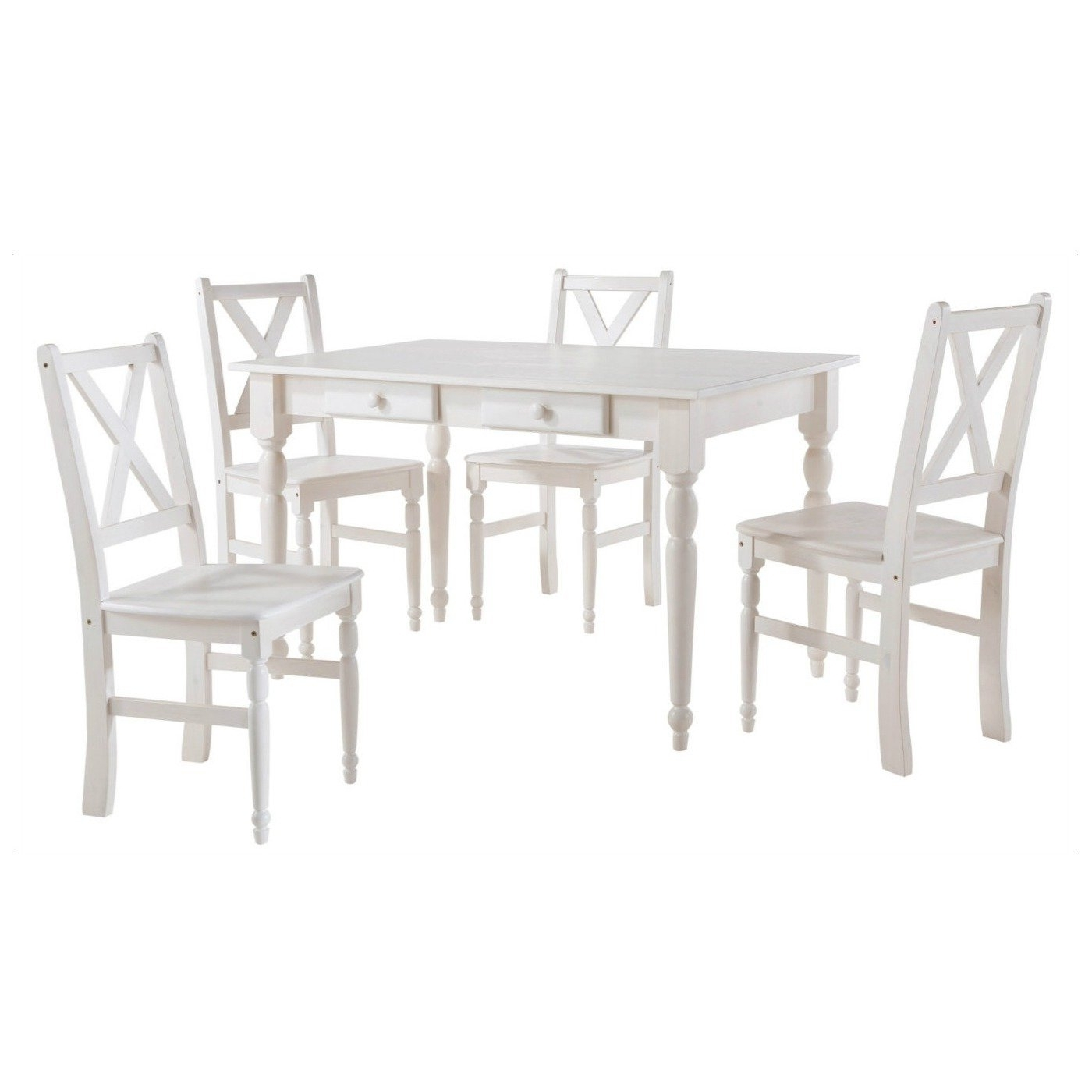 Most Up To Date Shop Scandinavian Lifestyle Noah Dining Table With Drawers – Free In Noah Dining Tables (View 14 of 25)