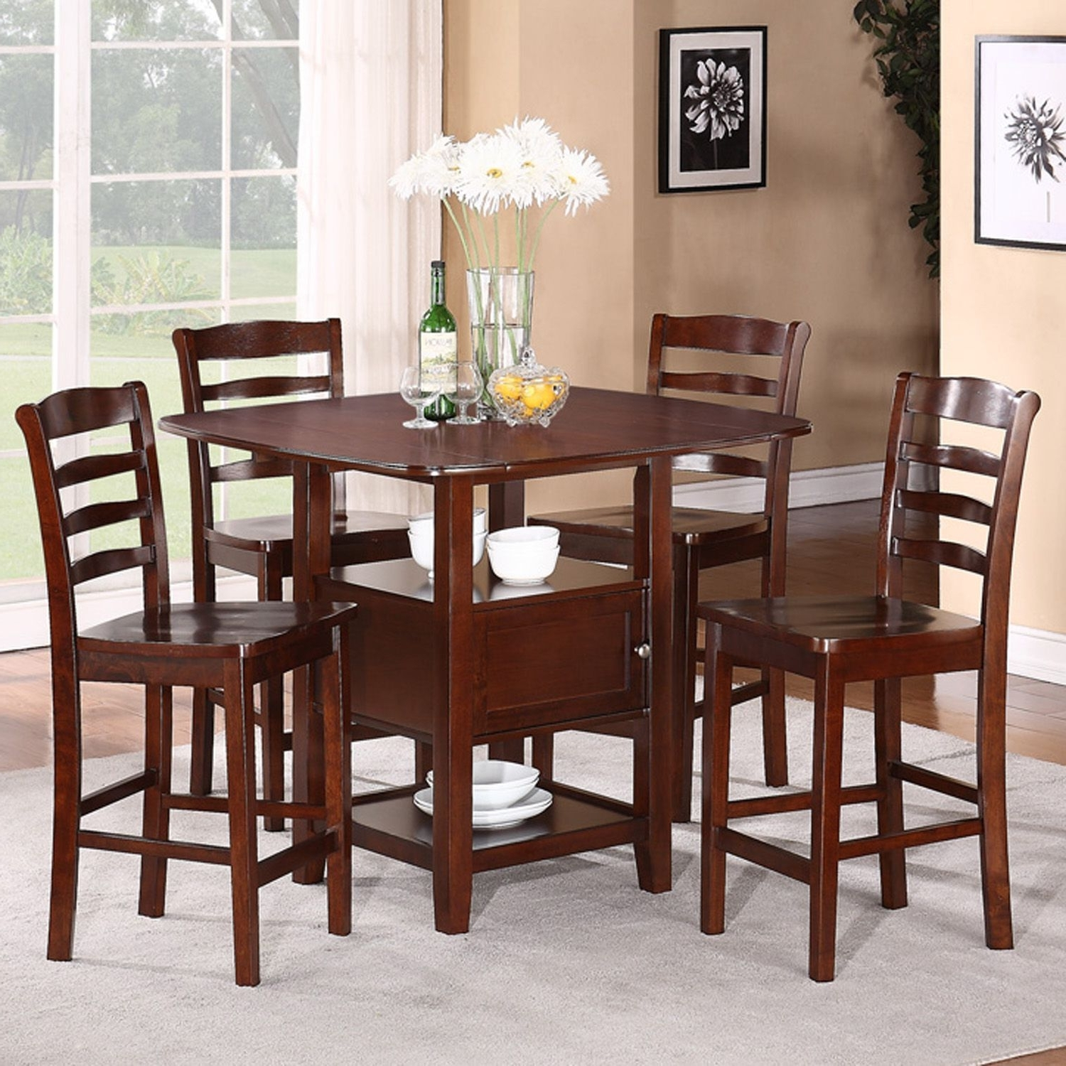 Most Up To Date Some Tips For Dinner Table Set – Pickndecor With Craftsman 5 Piece Round Dining Sets With Side Chairs (Gallery 4 of 25)