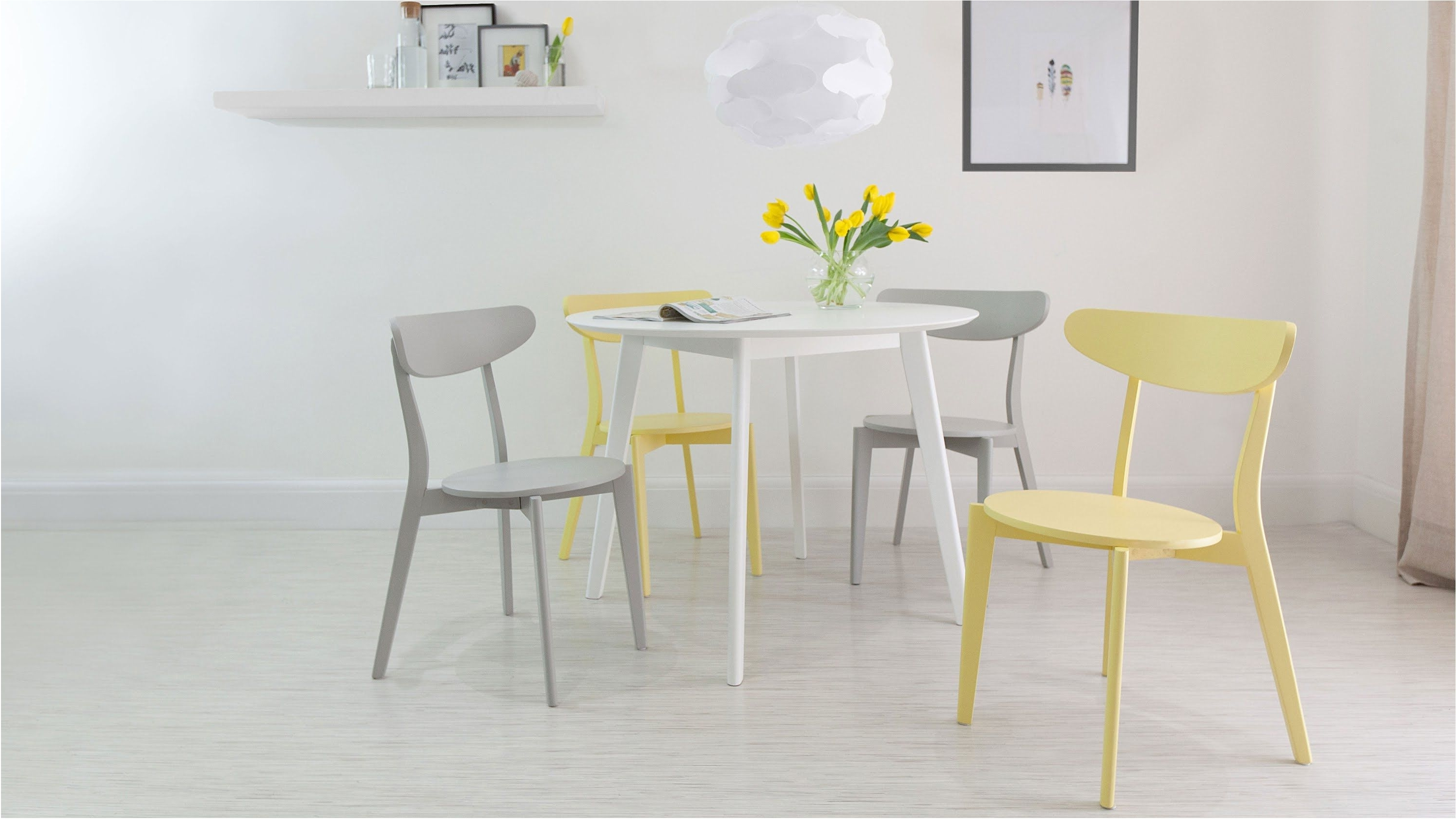 Most Up To Date Terrific Full White High Gloss Round Dining Table 4 Chairs Dining With Round High Gloss Dining Tables (View 12 of 25)