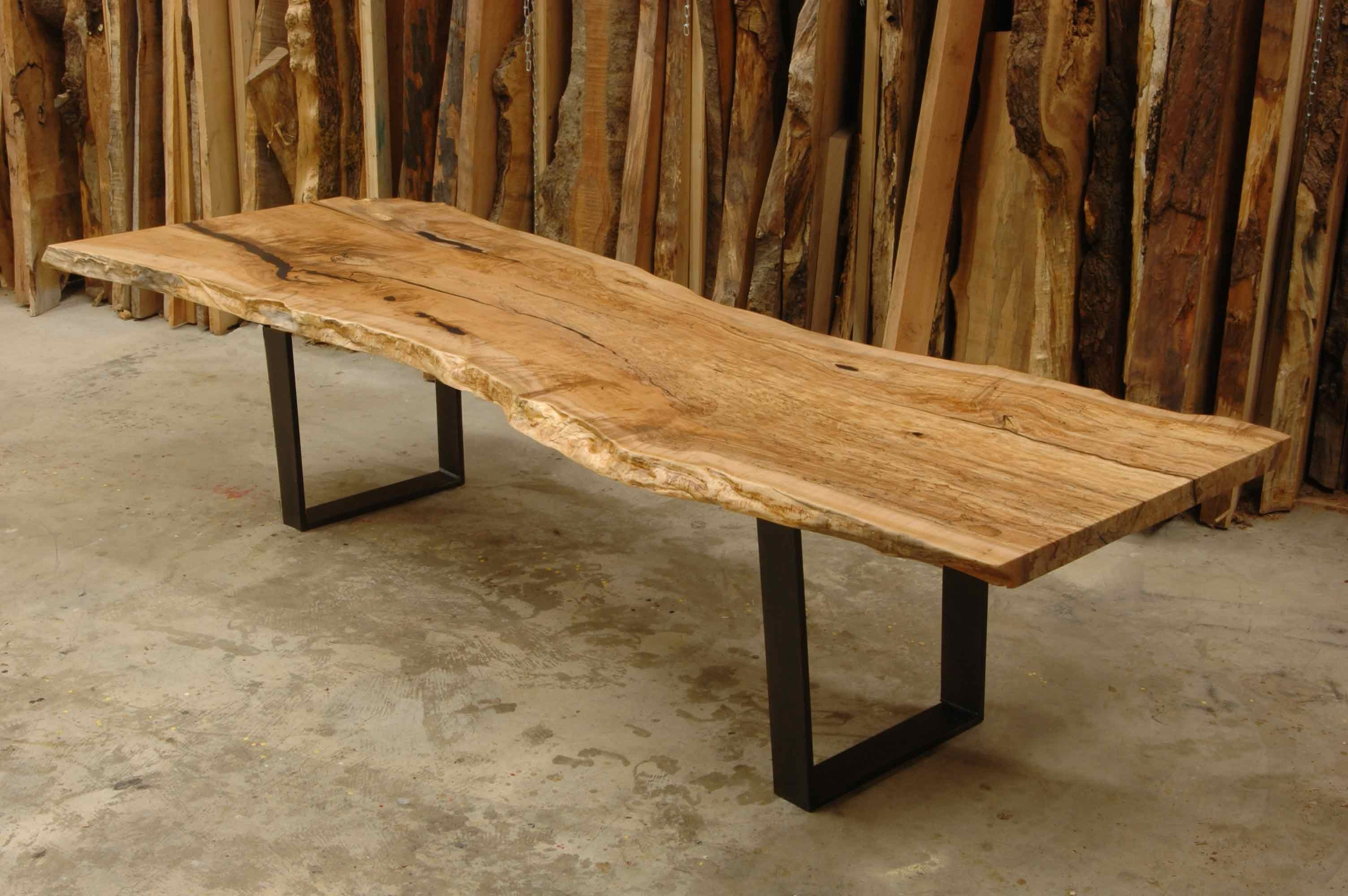 Most Up To Date Tiny Wood Slab Dining Table Edmonton For Wood Table Throughout Edmonton Dining Tables (View 19 of 25)