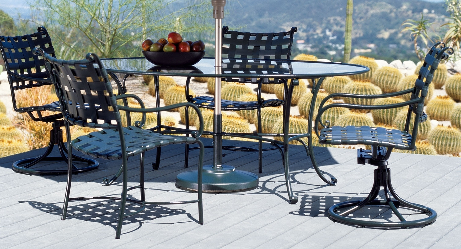 Most Up To Date Traditional Dining Table / Aluminum / Round / Oval – Roma – Brown Intended For Roma Dining Tables (View 25 of 25)