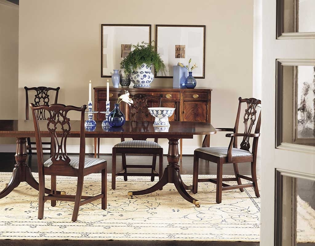 Most Up To Date Traditional Dining Tables Within Dining Room – Old Colony Furniture (View 11 of 25)