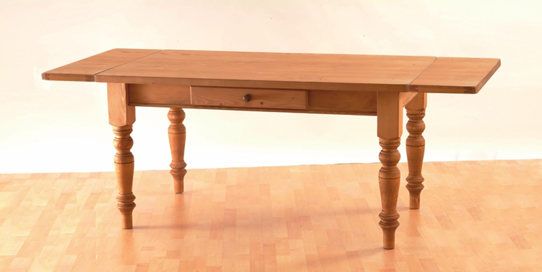 Mottisfont Waxed Pine 7Ft X 3Ft Dining Table Pertaining To Popular 3Ft Dining Tables (View 19 of 25)